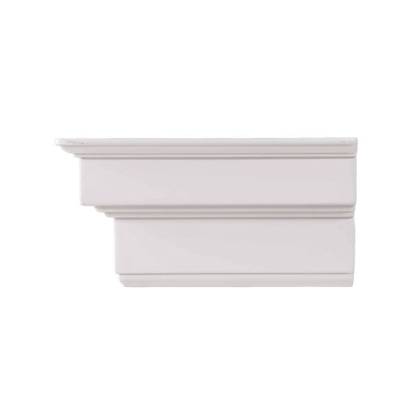 Southern Enterprises Accar Fireplace Mantel Shelf, Traditional Style, White 2