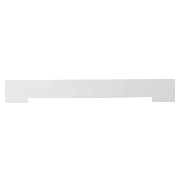 Southern Enterprises Aggeta Fireplace Mantel Shelf, Traditional Style, White 9