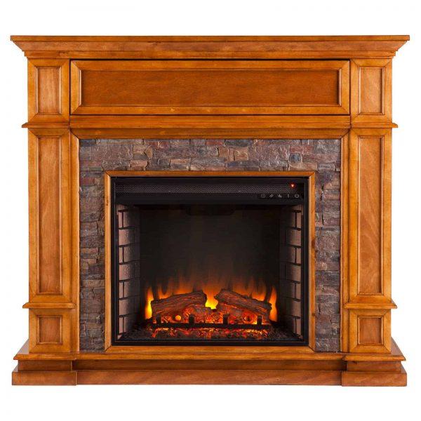 Southern Enterprises Belleview Electric Fireplace 1