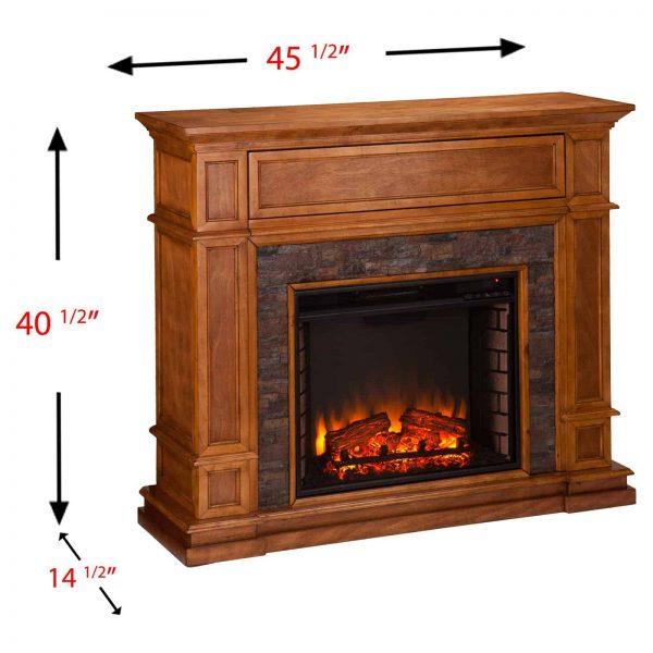 Southern Enterprises Belleview Electric Fireplace 3