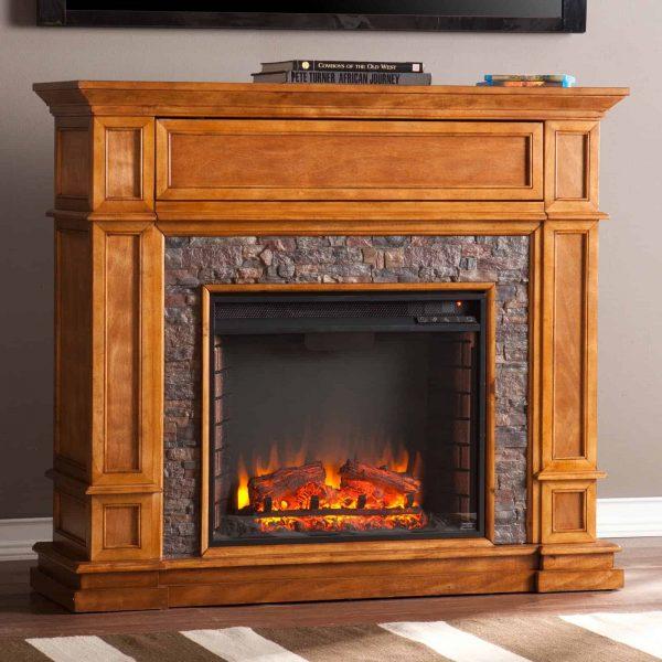 Southern Enterprises Belleview Electric Fireplace