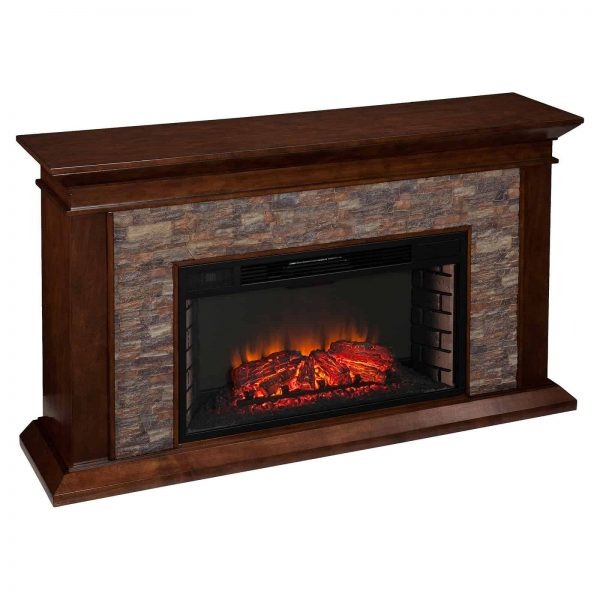Southern Enterprises Canyon Heights Electric Fireplace 1