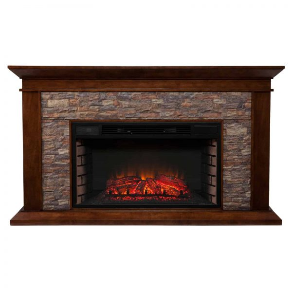 Southern Enterprises Canyon Heights Electric Fireplace 2