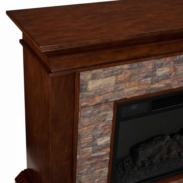 Southern Enterprises Canyon Heights Electric Fireplace 3