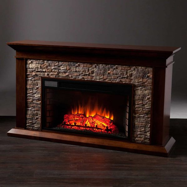 Southern Enterprises Canyon Heights Electric Fireplace 8
