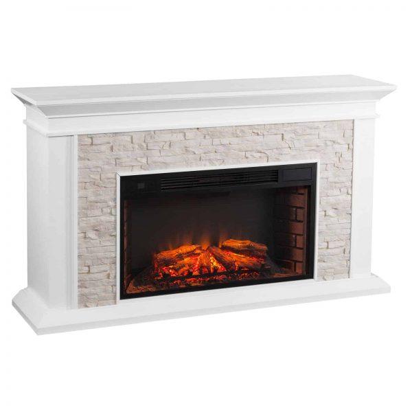 Southern Enterprises Canyon Widescreen Electric Fireplace 1