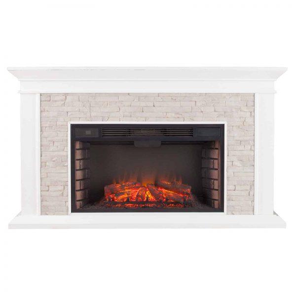 Southern Enterprises Canyon Widescreen Electric Fireplace 3