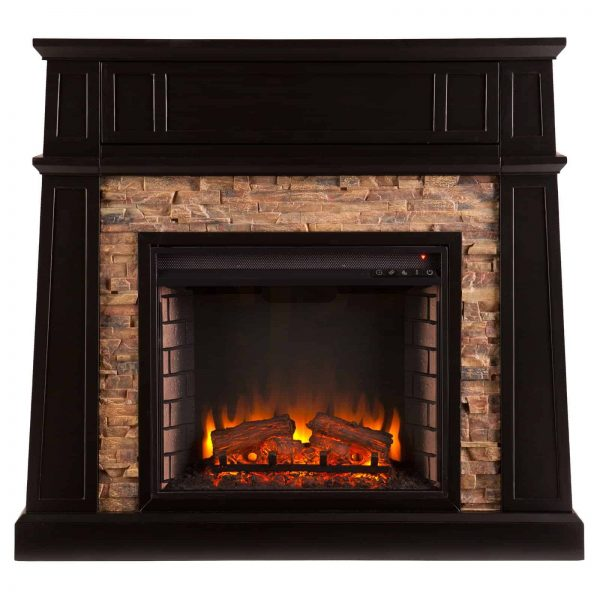 Southern Enterprises Crestwick Electric Fireplace 1