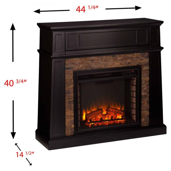 Southern Enterprises Crestwick Electric Fireplace 6