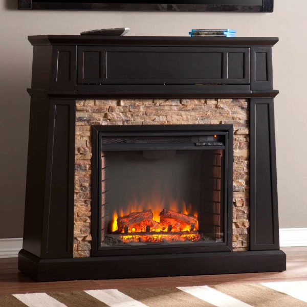 Southern Enterprises Crestwick Electric Fireplace