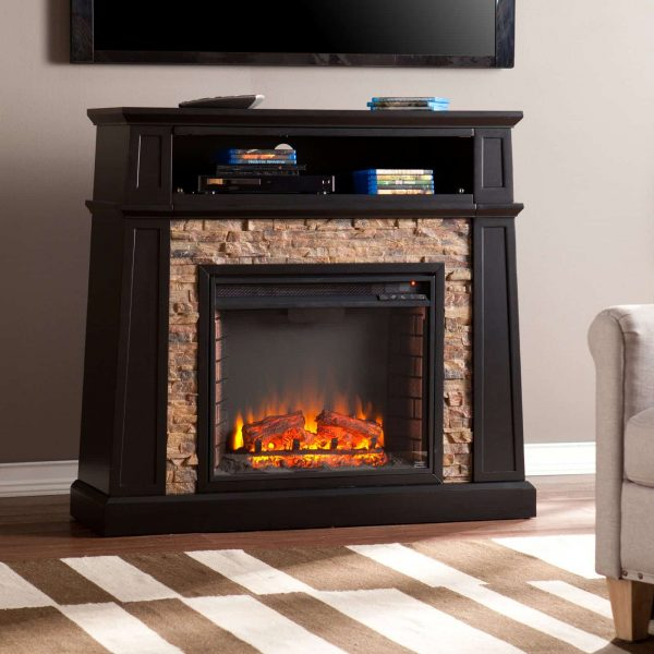 Southern Enterprises Crestwick Electric Fireplace 8