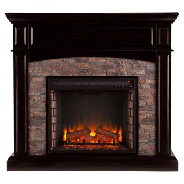 Southern Enterprises Grantham Corner Electric Fireplace 2