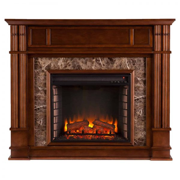 Southern Enterprises Highgate Electric Fireplace 1