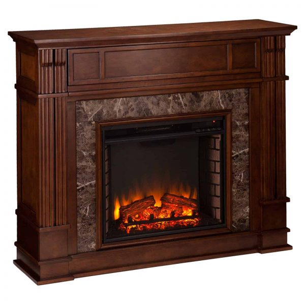 Southern Enterprises Highgate Electric Fireplace 2