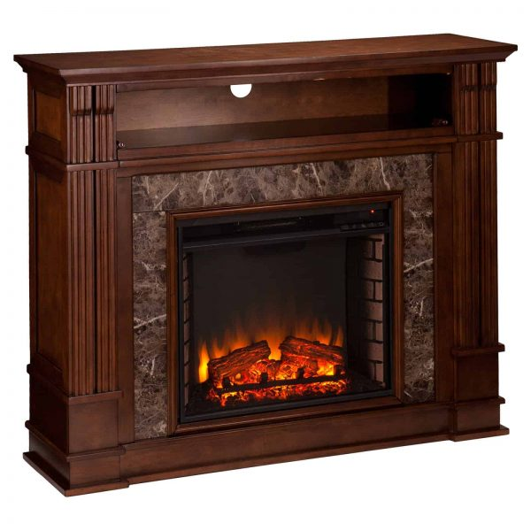 Southern Enterprises Highgate Electric Fireplace 8