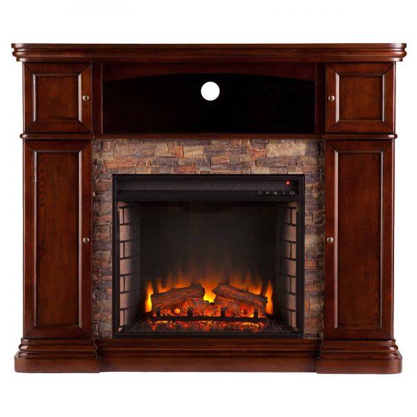 Southern Enterprises Hillcrest Electric Fireplace 1