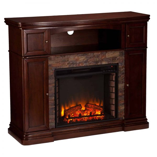 Southern Enterprises Hillcrest Electric Fireplace 2