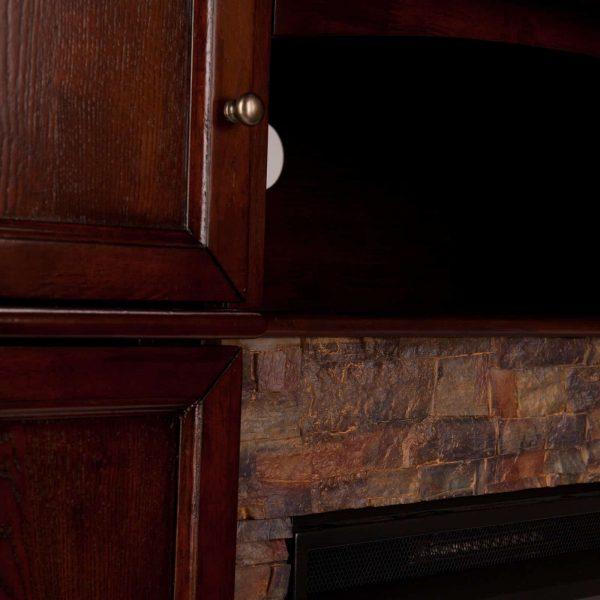 Southern Enterprises Hillcrest Electric Fireplace 4