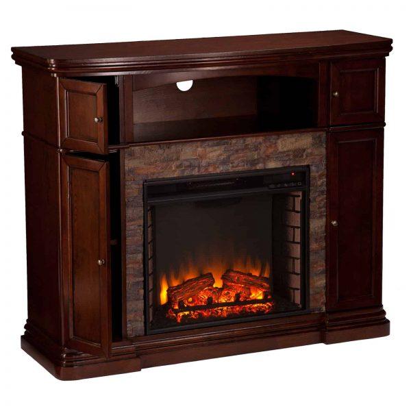 Southern Enterprises Hillcrest Electric Fireplace 6