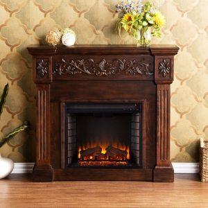 Southern Enterprises Jordan Electric Fireplace