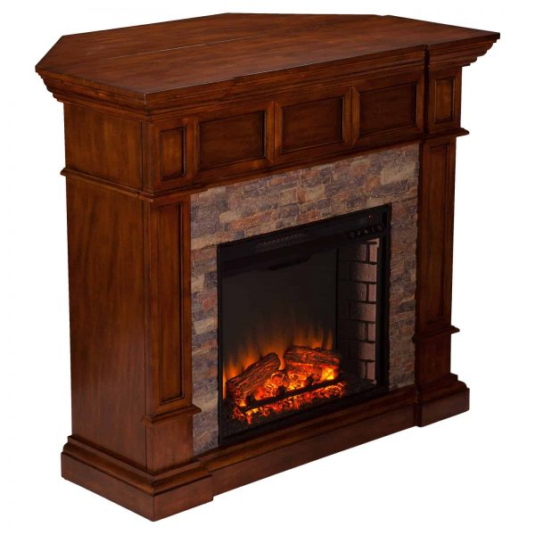 Southern Enterprises Merrimack Convertible Electric Fireplace 5