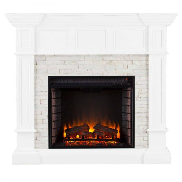 Southern Enterprises Merrimack Electric Fireplace 1