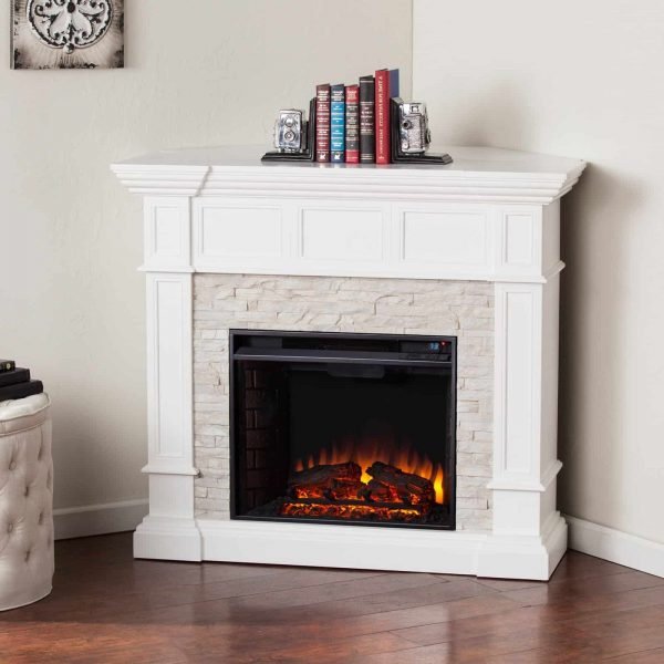 Southern Enterprises Merrimack Electric Fireplace 4