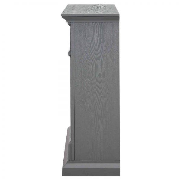 Southern Enterprises Seneca Electric Fireplace - Gray 4