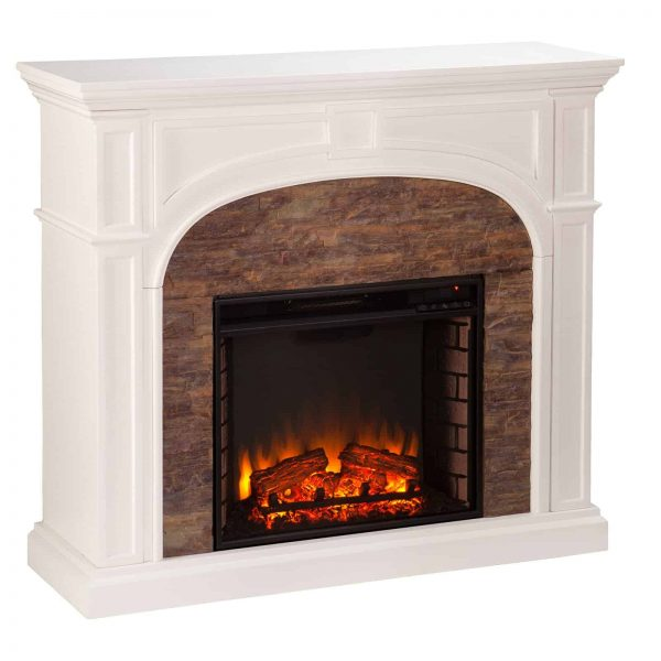Southern Enterprises Tanaya Electric Fireplace 1