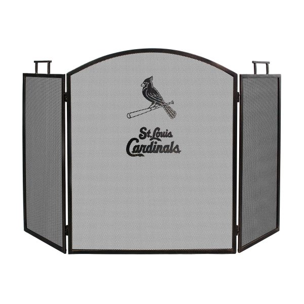 St. Louis Cardinals Imperial Fireplace Screen - Brown