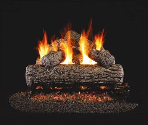 Standard Golden Oak Gas Logs - 18 Inch
