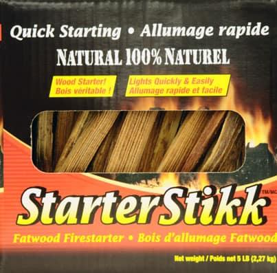 Starterstikk 4152500153 5 lbs Fatwood Firestarter 1
