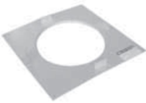 "SuperPro JSC6FP Finishing Plate for 6"" Chimney Pipe"