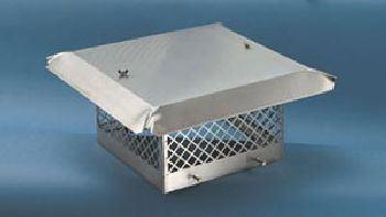 Sweeps Perfection Single Flue Stainless Steel Rain Cap Model SP8X13