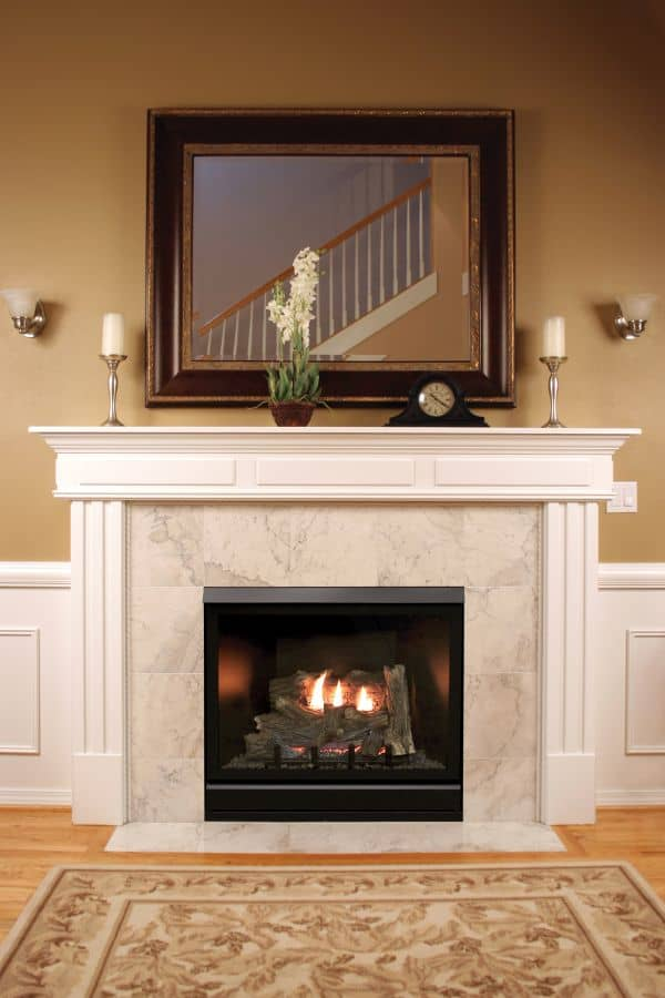 Tahoe Clean Face Contemporary Fireplace DVCC42BP72P - Liquid Propane