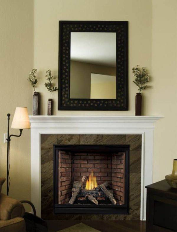 Tahoe Clean Face Traditional DV Fireplace DVCP32BP70P - Liquid Propane