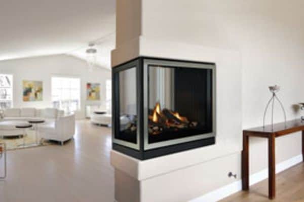 Tahoe Premium 36 Clean Face DV IP See-Through Fireplace - Natural Gas