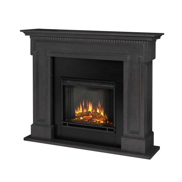 Thayer Electric Fireplace Gray by Real Flame 1