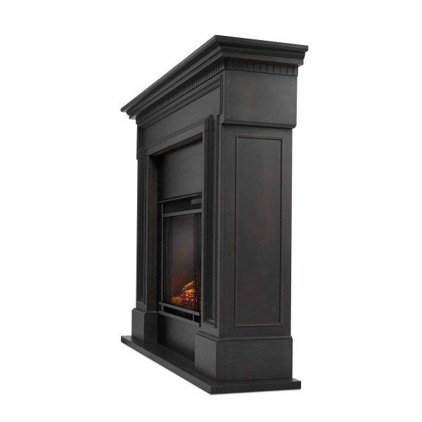 Thayer Electric Fireplace Gray by Real Flame 2
