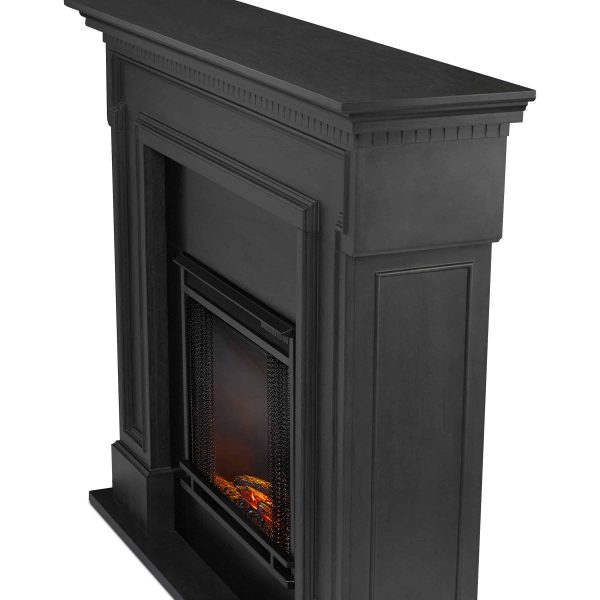 Thayer Electric Fireplace Gray by Real Flame 4
