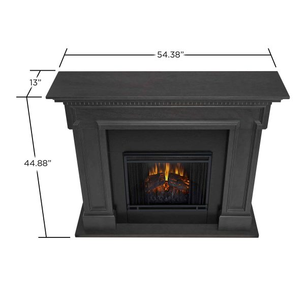 Thayer Electric Fireplace Gray by Real Flame 5