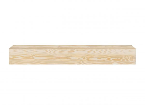 The Hastings 60 Mantel Shelf Unfinished