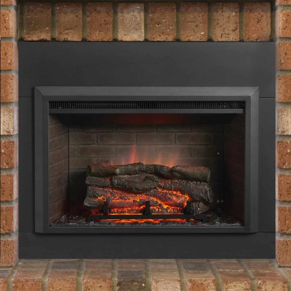 The Outdoor GreatRoom Company Gallery Electric Fireplace Insert 1