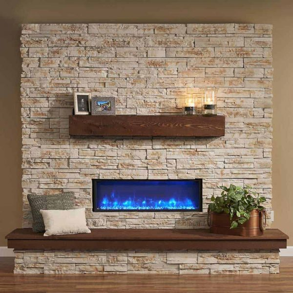 The Outdoor GreatRoom Company Gallery Wall Mounted Electric Fireplace 2