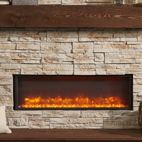 The Outdoor GreatRoom Company Gallery Wall Mounted Electric Fireplace