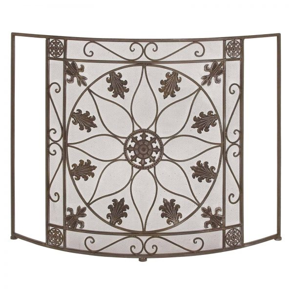 The Protective Metal Fire Screen