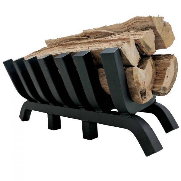"Titan 24"" 1.25"" Solid Steel Fireplace Grate 5"