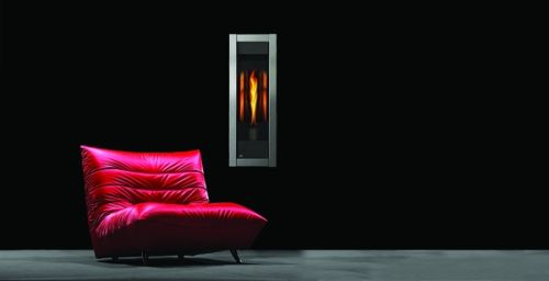 Torch Indoor Direct Vent Gas Fireplace