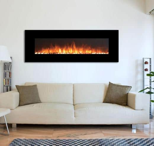 Touchstone OnyxXL Wall Mounted Electric Fireplace 1