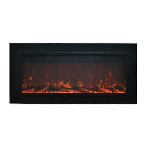 Touchstone Sideline Steel Wall Mount Electric Fireplace